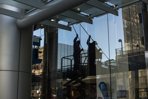Window glass cleaning services abu dhabi